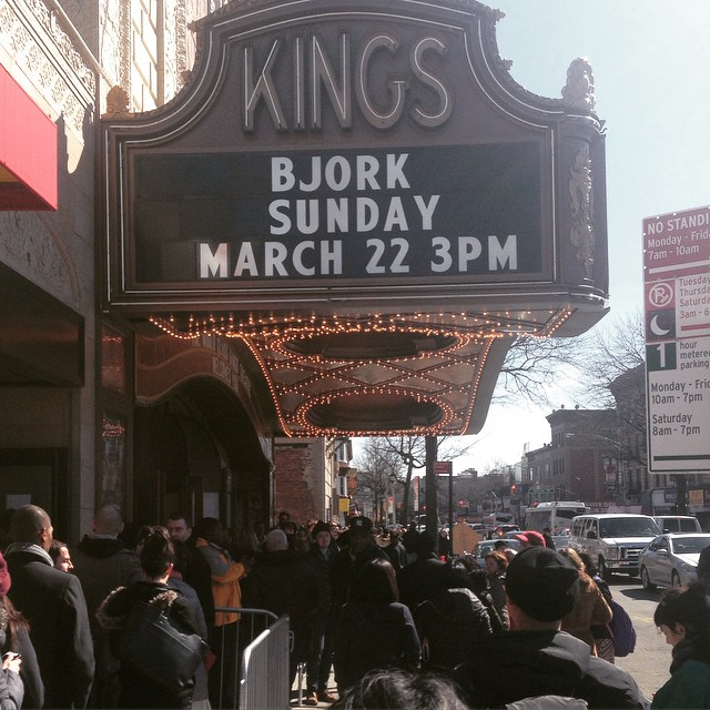 Björk at Kings Theater